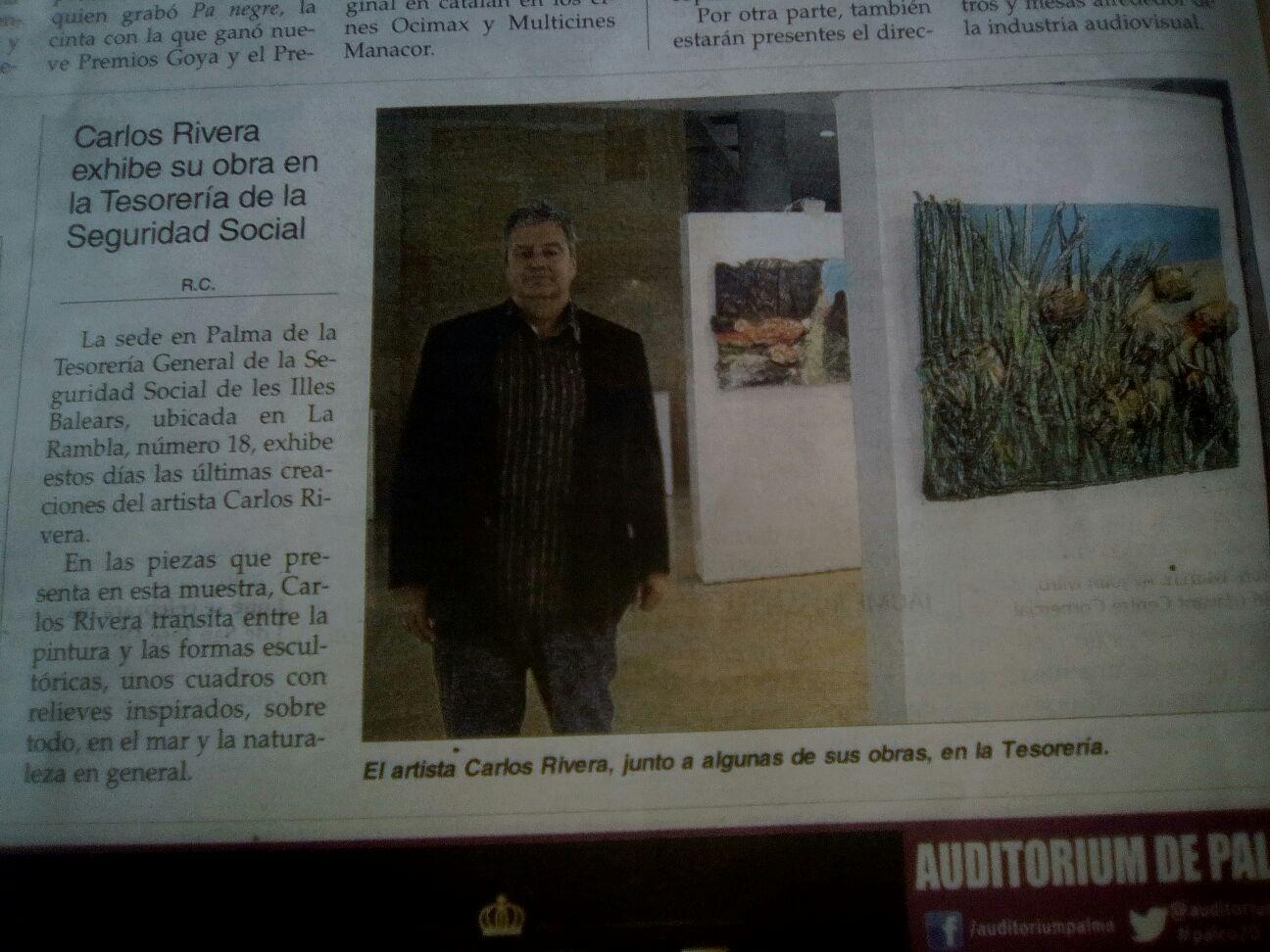Recortes y notas de prensa | Carlos Rivera